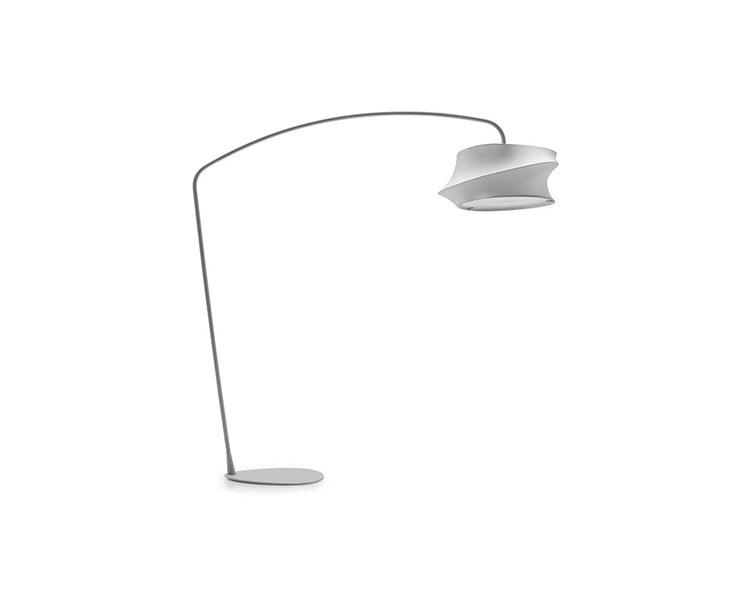 Lampada da lettura di design Cygnus di Calligaris