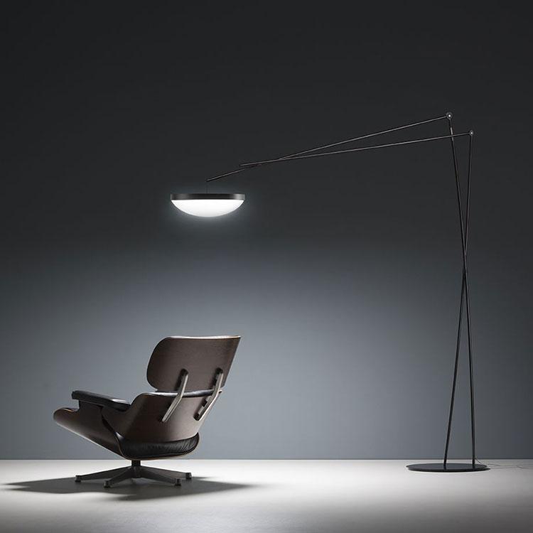 Lampada da lettura di design Effimera di Prandina