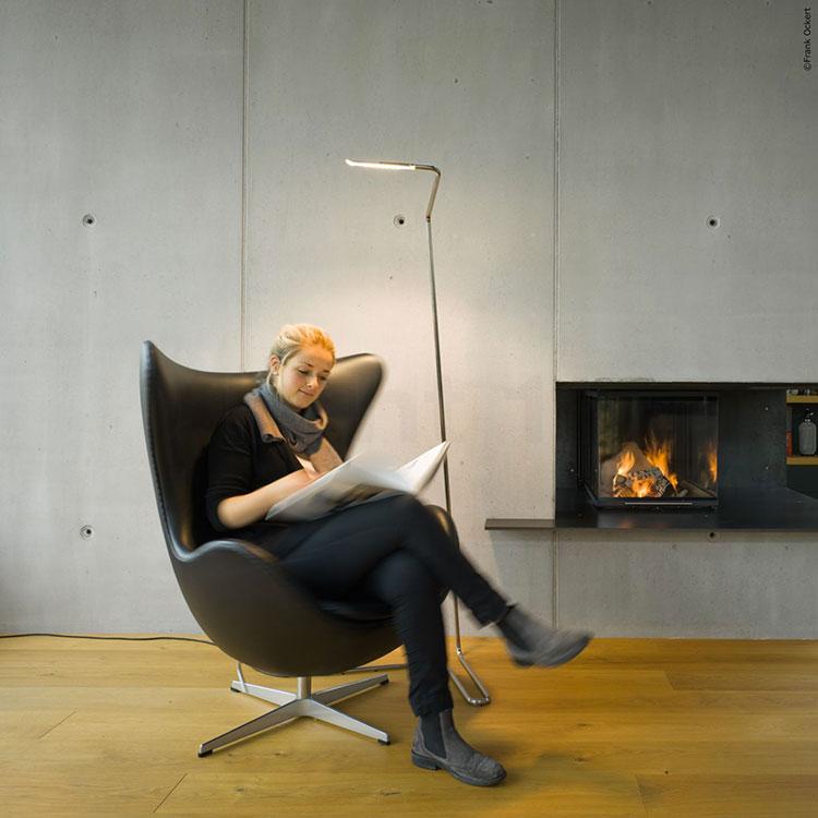 Lampada da lettura di design Eloise di Nimbus