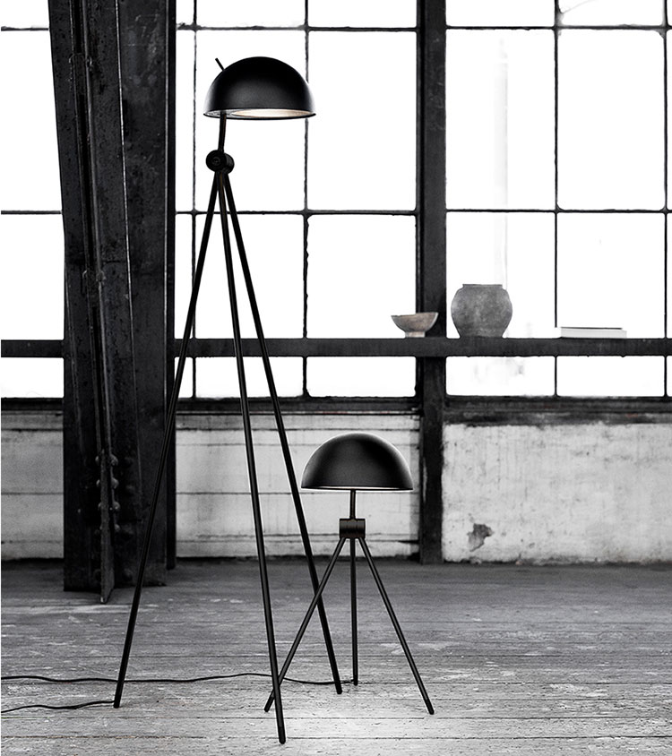 Lampada da lettura di design Radon di Fritz Hansen