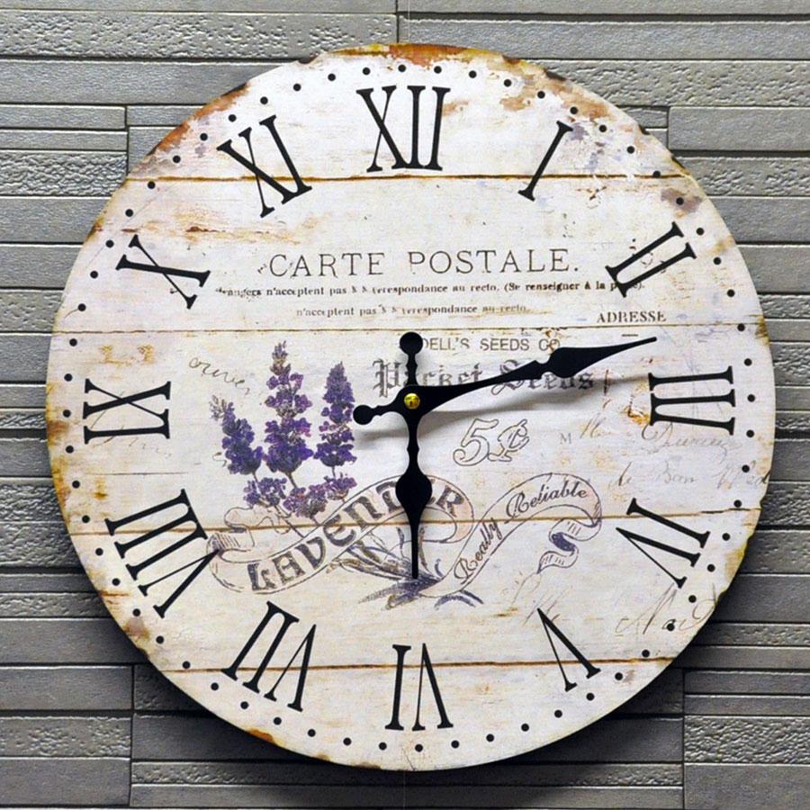 Modello di orologio da parete vintage classico n.11