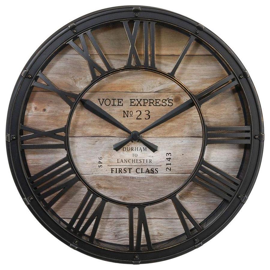 Modello di orologio da parete vintage classico n.14