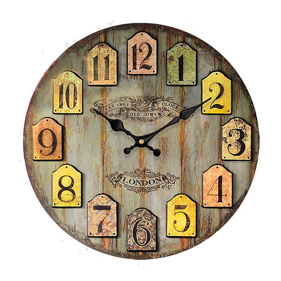 Modello di orologio da parete vintage classico n.15