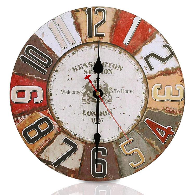 Modello di orologio da parete vintage classico n.2