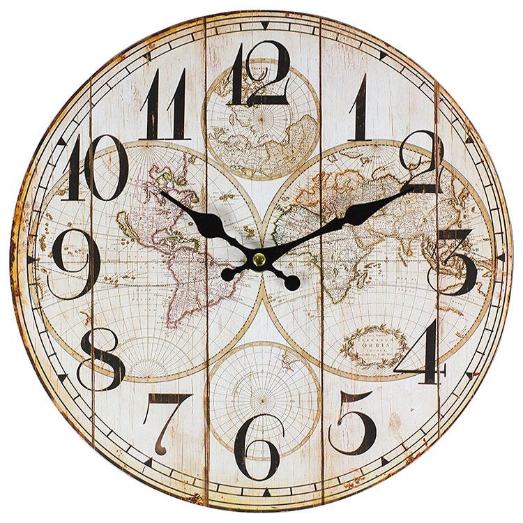 Modello di orologio da parete vintage classico n.7