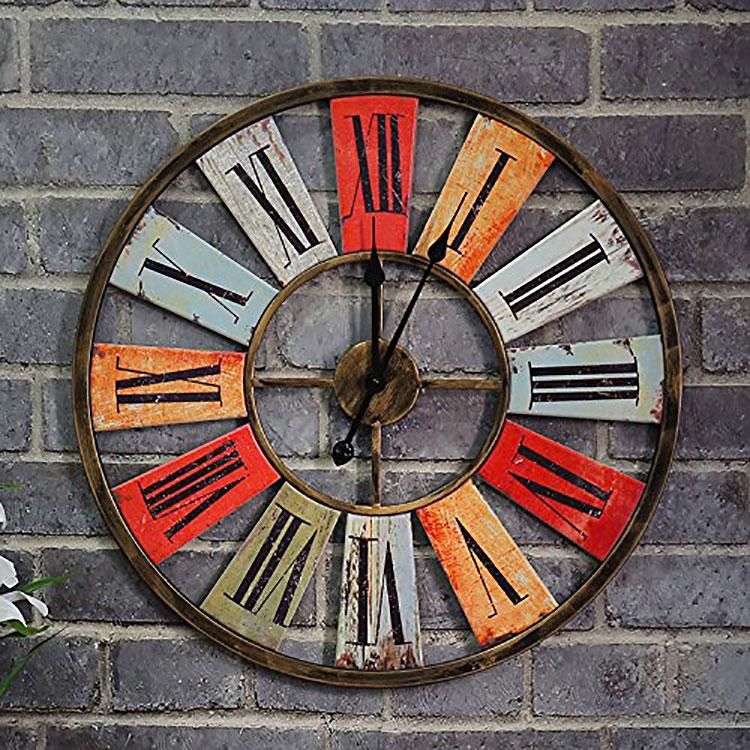 Modello di orologio da parete vintage classico n.9