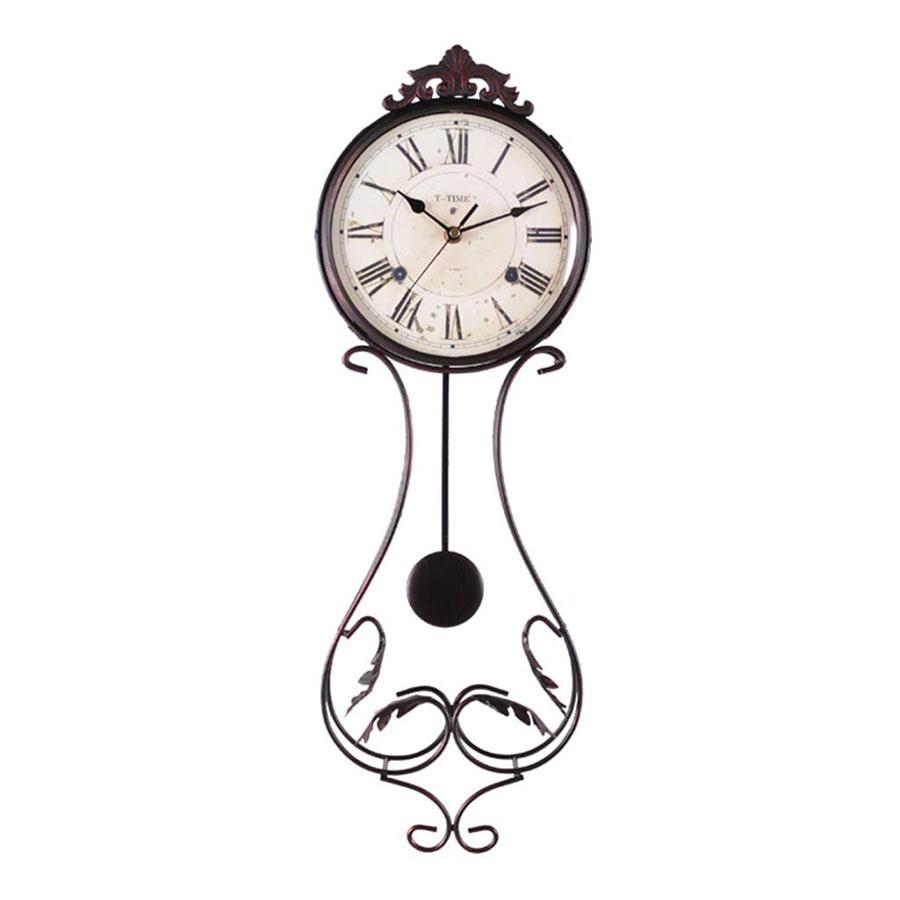 Modello di orologio da parete vintage a pendolo 1