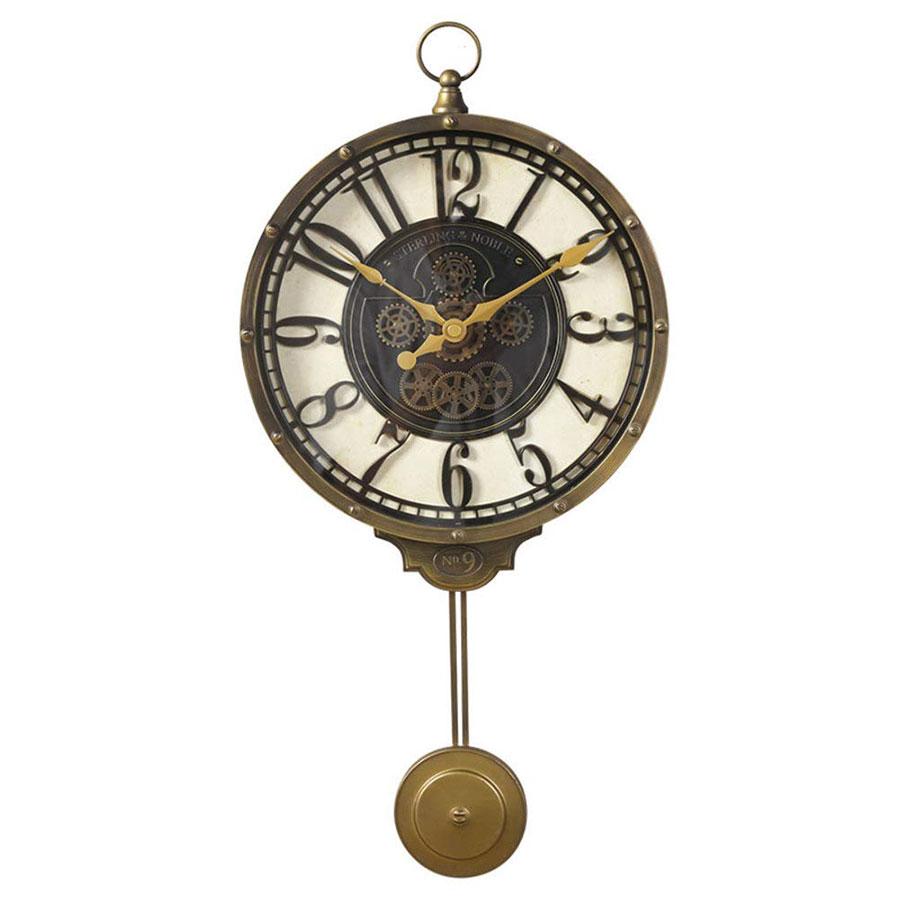 Modello di orologio da parete vintage a pendolo 4