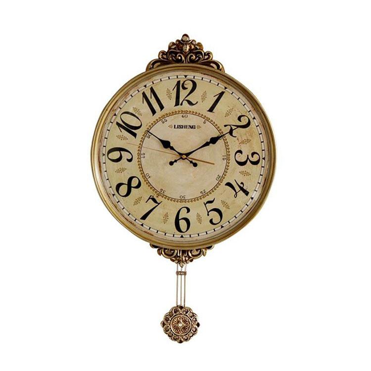 Modello di orologio da parete vintage a pendolo n.2