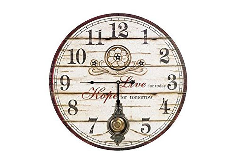 Modello di orologio da parete vintage a pendolo n.5