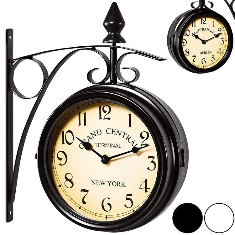 Modello di orologio da parete vintage da stazione n.1