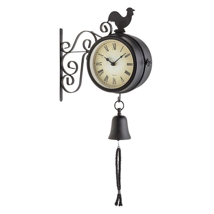 Modello di orologio da parete vintage da stazione n.3