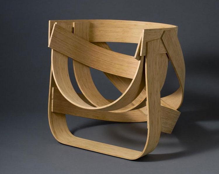 Poltrona Bamboo Chair di Tejo Remy e René Veenhuizen