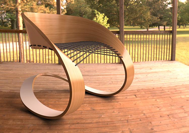 Poltrona Carnaval Chair di Glid