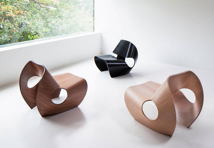 Poltrona Cowrie Chair di Ratio