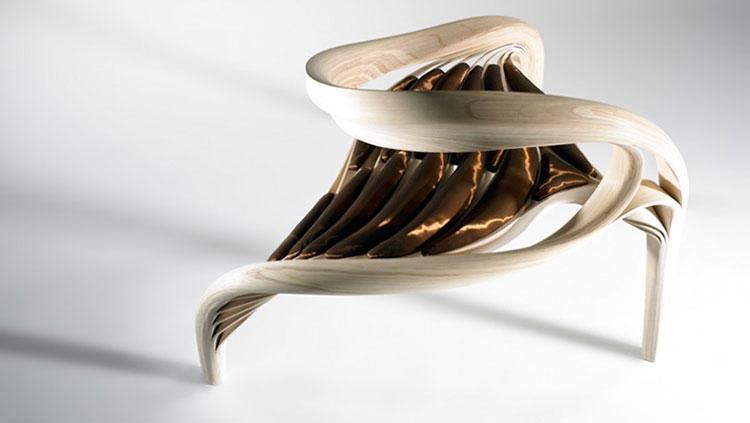 Poltrona Enignum III Chair di Joseph Walsh