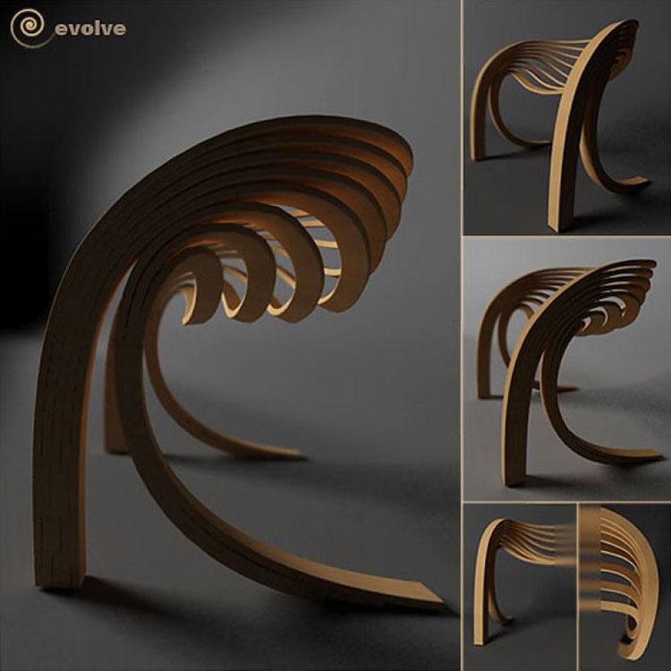 Poltrona Evolve Chair di Velichko Velikov