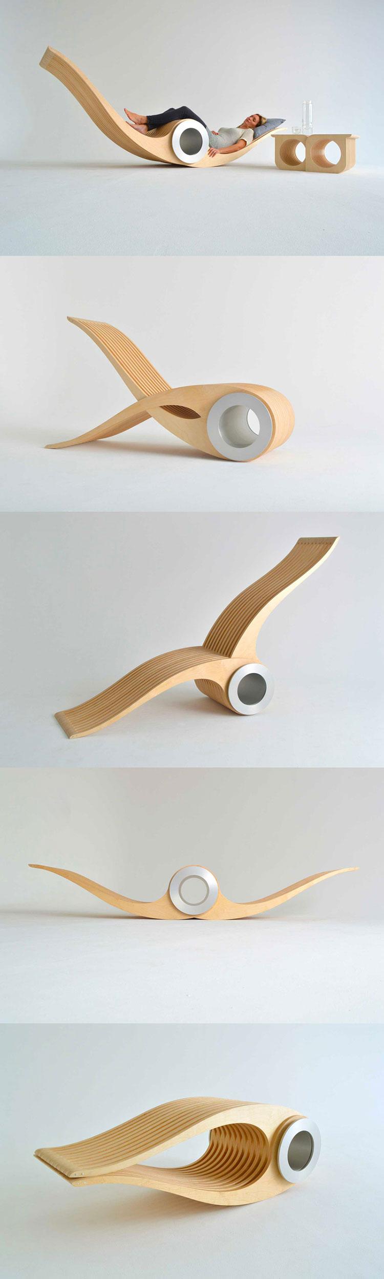 Poltrona Exocet Chair di Stéphane Leathead
