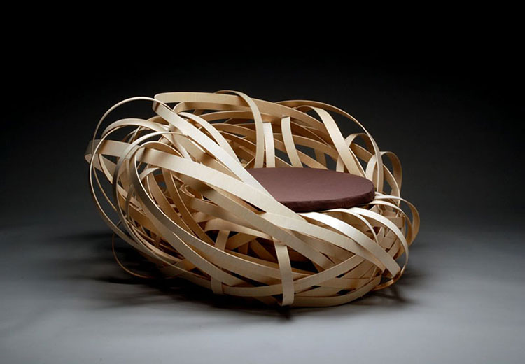 Poltrona Nest Chair di Nina Bruun