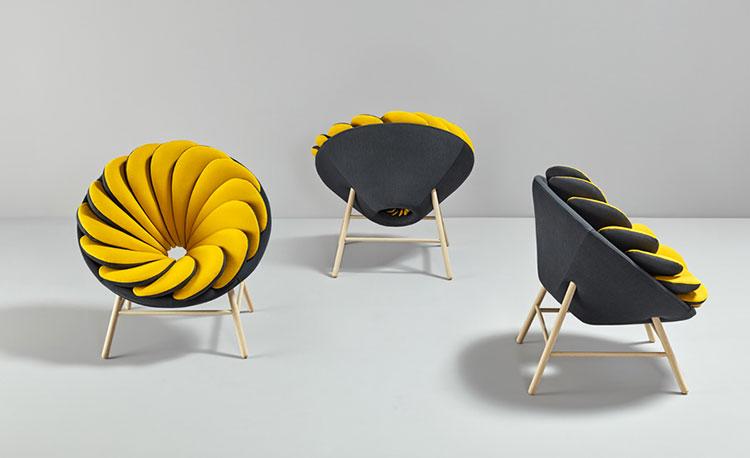 Poltrona Quetzal chair di Marc Venot
