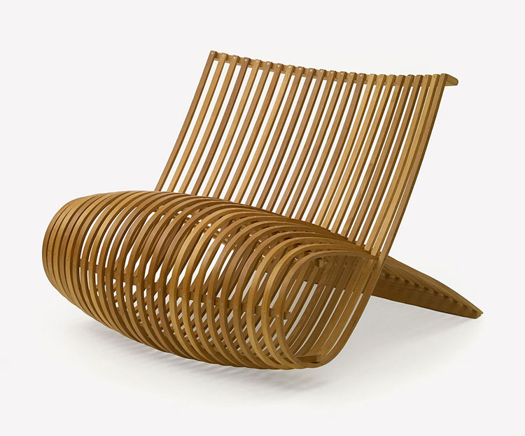 Poltrona Wood Chair di Marc Newson