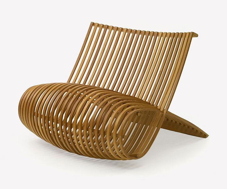 Poltrona Wood Chair di Marc Newson