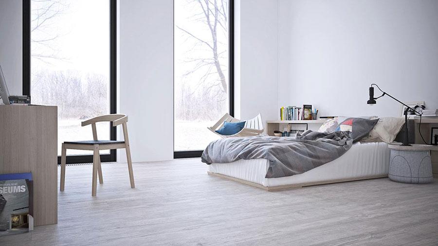 Idee per arredare casa con il bianco e il grigio n.05