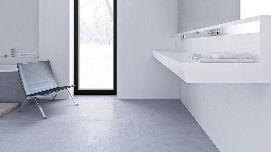 Idee per arredare casa con il bianco e il grigio n.07
