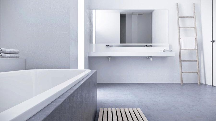 Idee per arredare casa con il bianco e il grigio n.08
