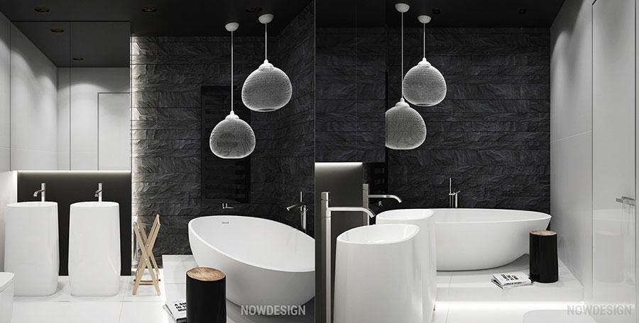 Idee per arredare casa con il bianco e il grigio n.17