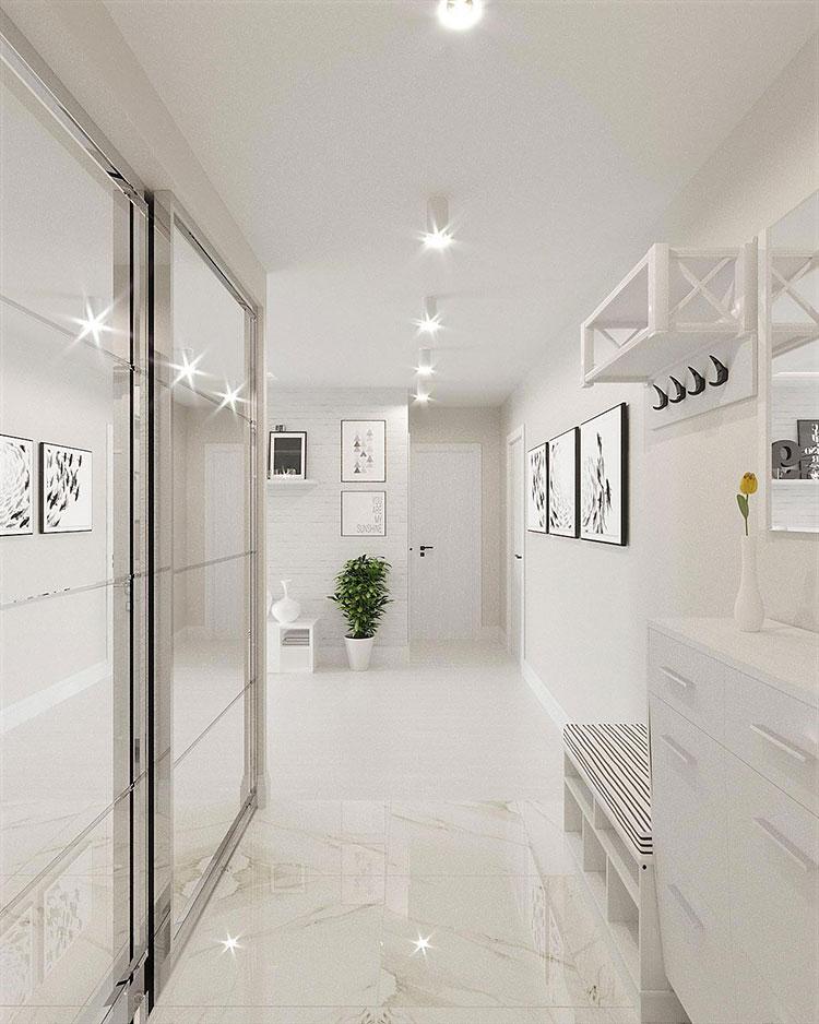 Idee per arredare casa con il bianco e il grigio n.22