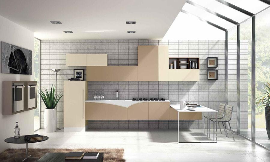 Idee per arredare casa con il bianco il grigio e il beige n.2
