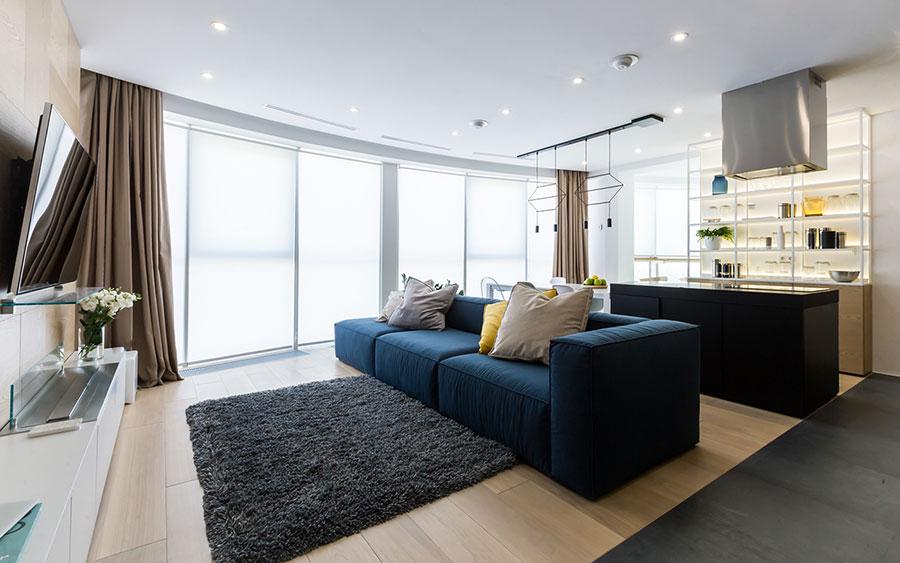 Come arredare una casa di 120 mq ecco 7 progetti for Progetto appartamento moderno