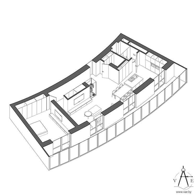 Idee per arredare un appartamento di 120 mq n.08