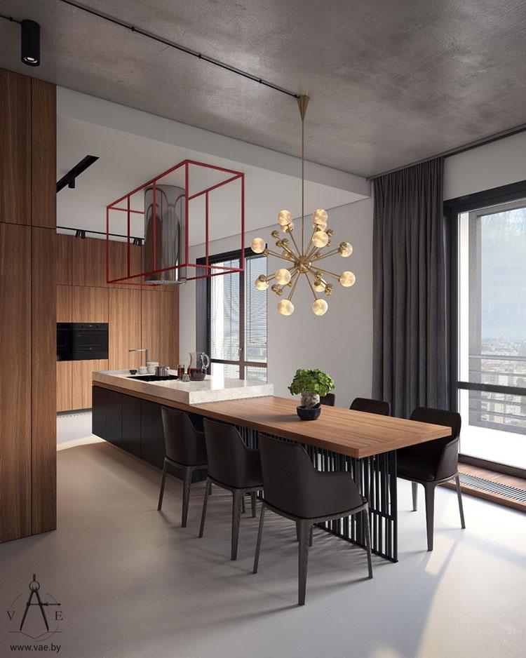 Idee per arredare un appartamento di 120 mq n.13
