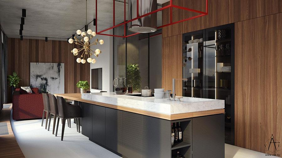 Idee per arredare un appartamento di 120 mq n.14