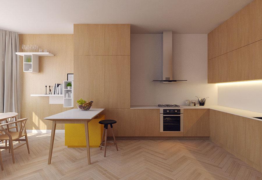 Idee per arredare un appartamento di 120 mq n.20