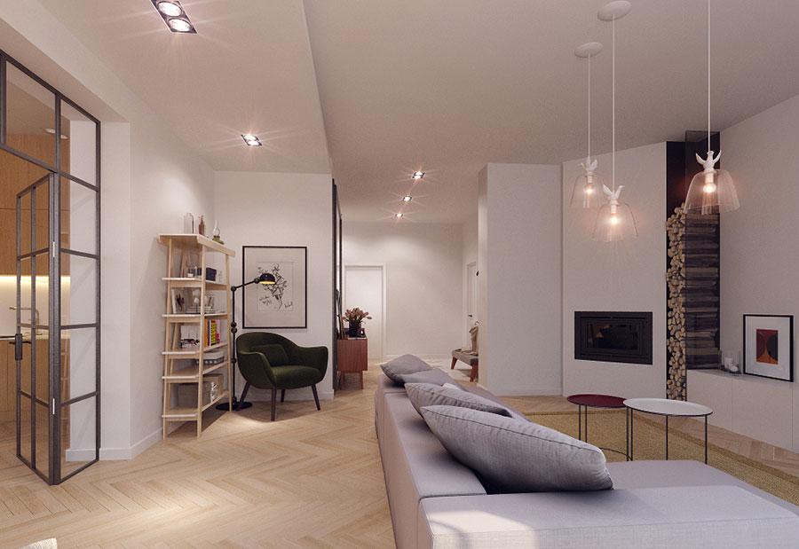 Idee per arredare un appartamento di 120 mq n.22