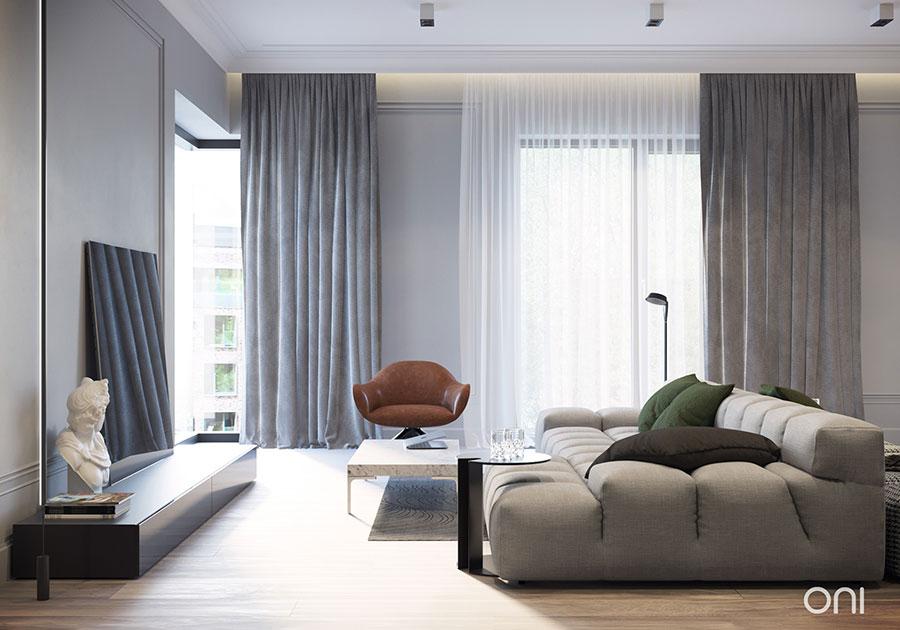 Idee per arredare un appartamento di 120 mq n.28