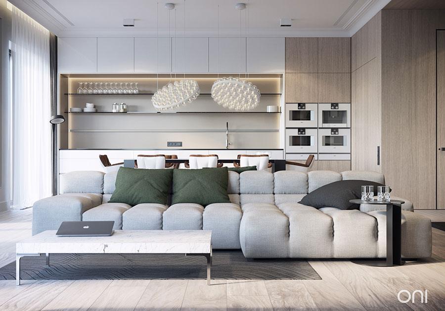 Idee per arredare un appartamento di 120 mq n.29