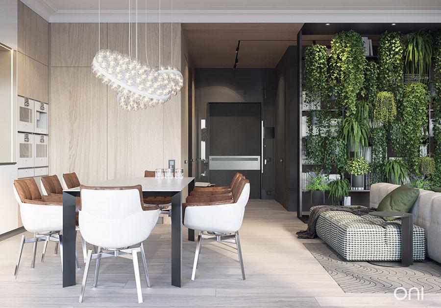 Idee per arredare un appartamento di 120 mq n.30