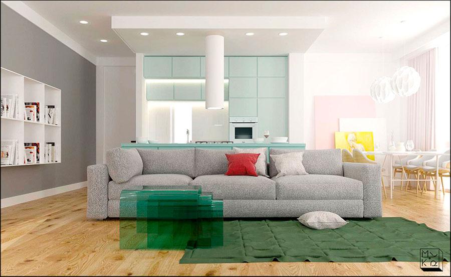 Idee per arredare un appartamento di 120 mq n.37