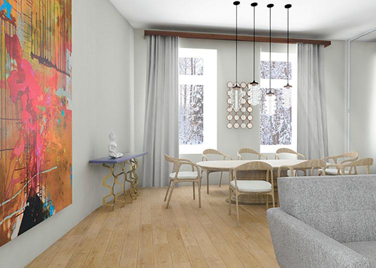 Idee per arredare un appartamento di 120 mq n.43