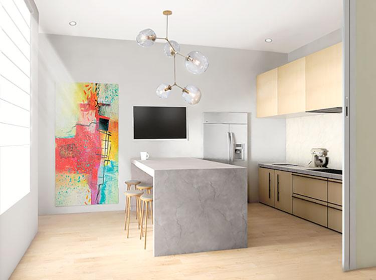 Idee per arredare un appartamento di 120 mq n.44