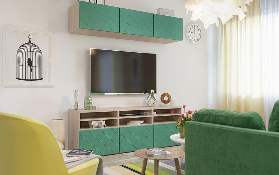 Idee per arredare una casa piccola con Ikea n.02