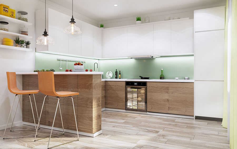Arredare una casa piccola ikea tante idee e progetti originali - Idee per arredare una cucina piccola ...