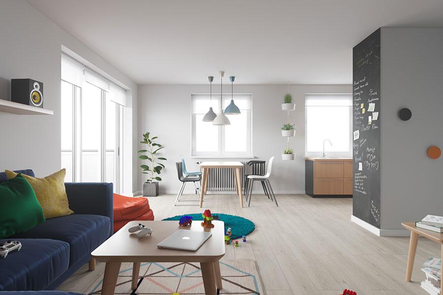 Idee per arredare una casa piccola con Ikea n.14