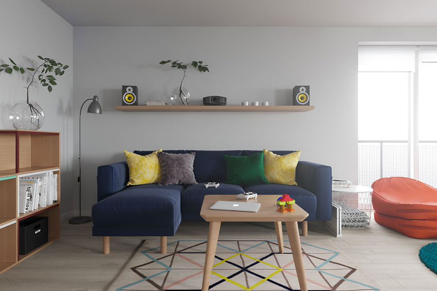 Idee per arredare una casa piccola con Ikea n.15