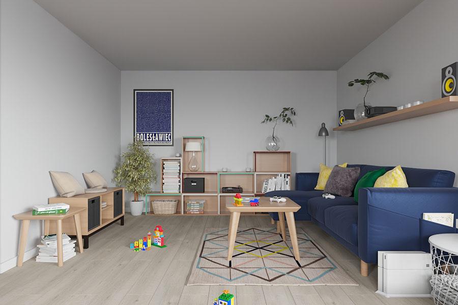 Idee per arredare una casa piccola con Ikea n.16