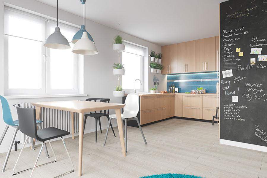 Idee per arredare una casa piccola con Ikea n.17